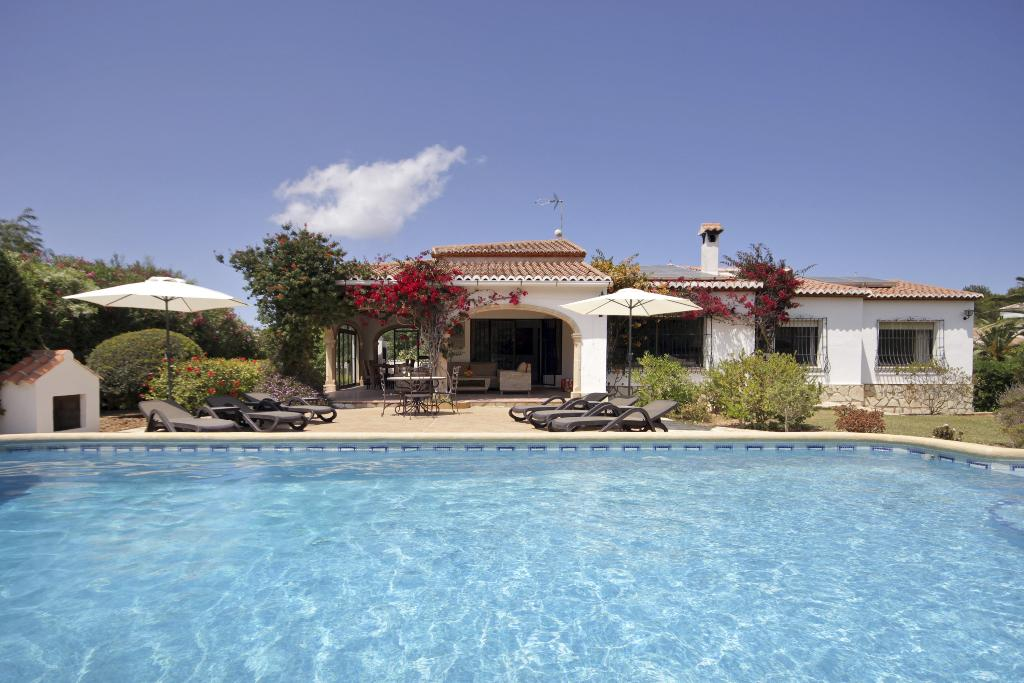 El Tesorito Javea, Lovely and luxury villa in Javea, on the Costa Blanca, Spain  with private pool for 6 persons.....