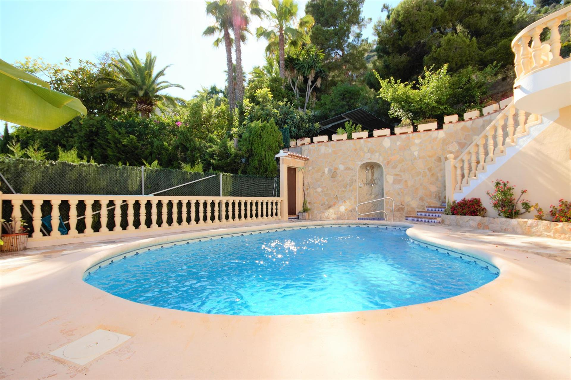 Impala, Large and comfortable villa in Javea, on the Costa Blanca, Spain  with private pool for 6 persons.....