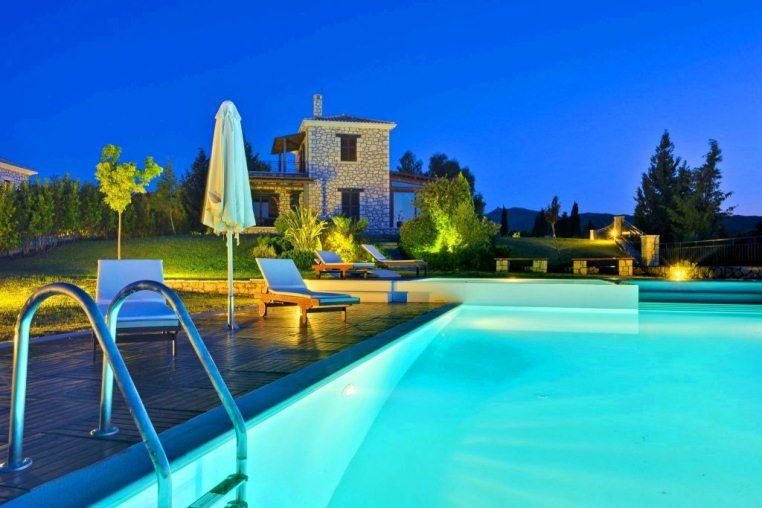 Anemones villas, Beautiful and luxury villa in Eparchía Lefkádos, Ionian Islands, Greece  with private pool for 4 persons...