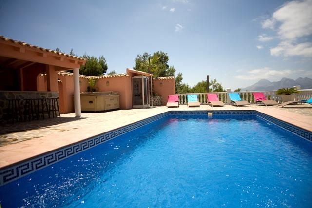Casa Preciosa, Villa  with private pool in Altea, on the Costa Blanca, Spain for 6 persons...