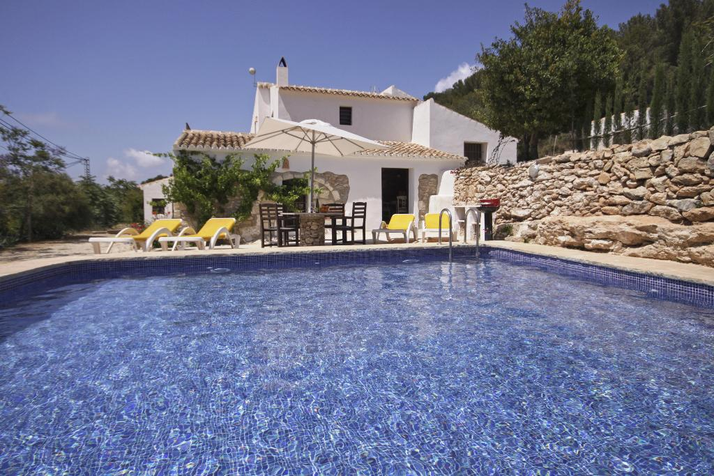 Finca del Mar, Rustic and romantic villa in Javea, on the Costa Blanca, Spain  with private pool for 6 persons.....