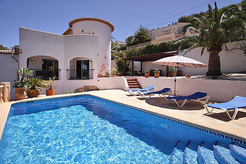 Casa Moya 4pax, Beautiful and comfortable villa in Javea, on the Costa Blanca, Spain  with private pool for 4 persons...