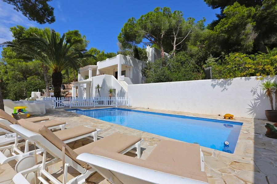 915 10p, Villa in Es Cubells, Ibiza, Spain  with private pool for 10 persons...