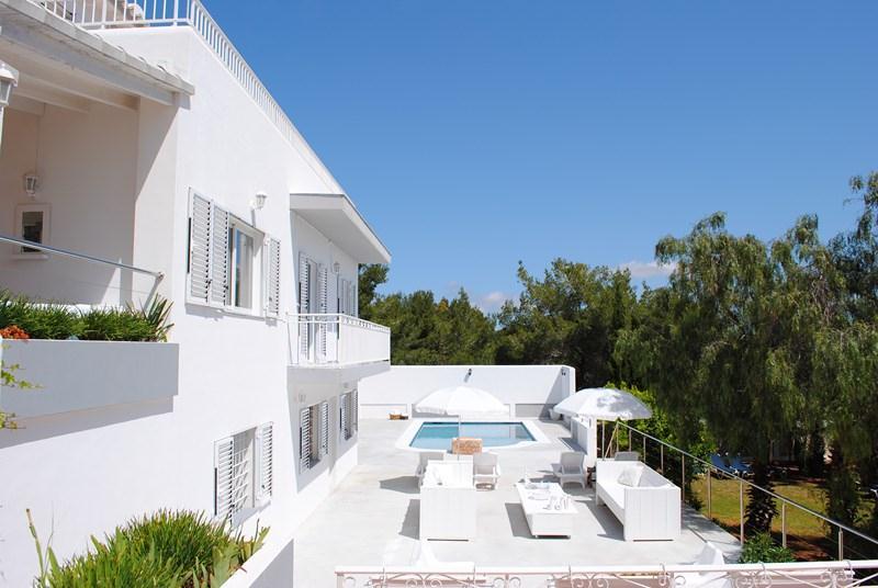 720,Villa grande y confortable  con piscina privada en San Rafael, Ibiza, España para 12 personas...