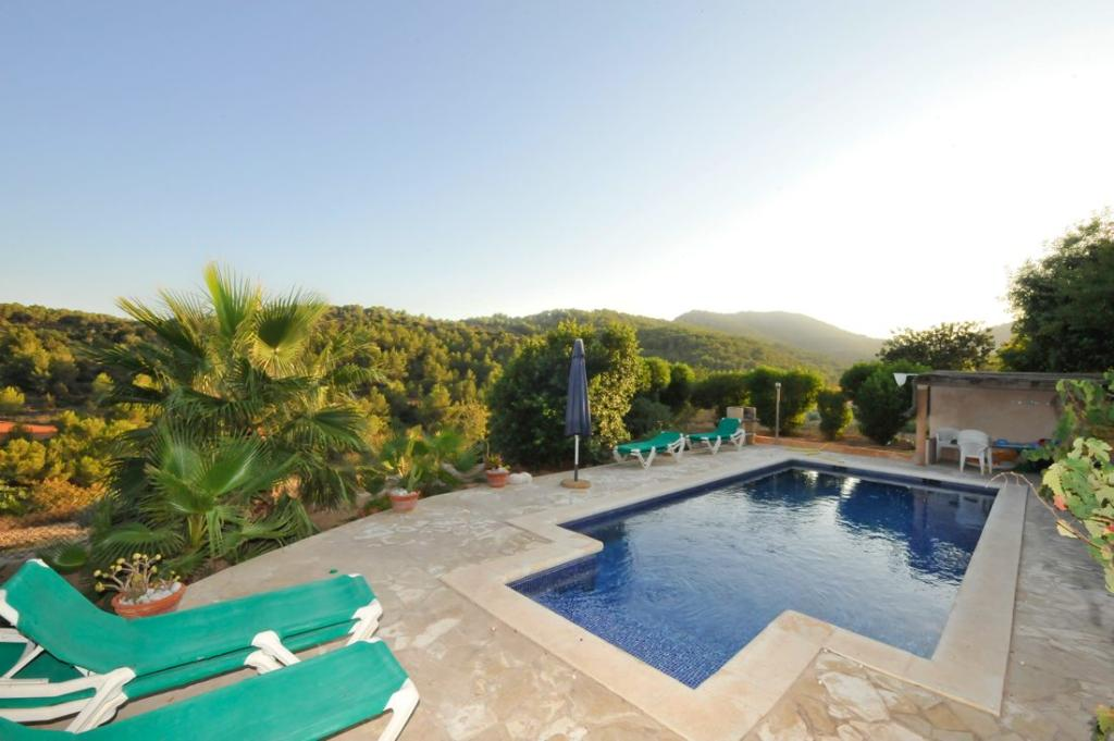 607 6p, Villa in Es Cubells, Ibiza, Spain  with private pool for 6 persons...