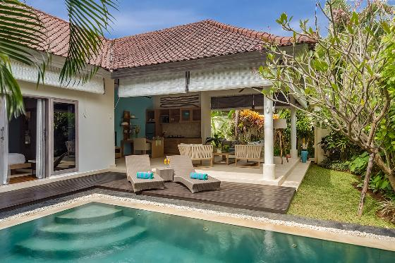Sky 4s, Beautiful and luxury villa  with private pool in Seminyak, Bali, Indonesia for 2 persons...