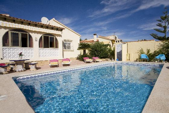 Eva, Villa in Alfaz Del Pi, on the Costa Blanca, Spain  with private pool for 4 persons.....