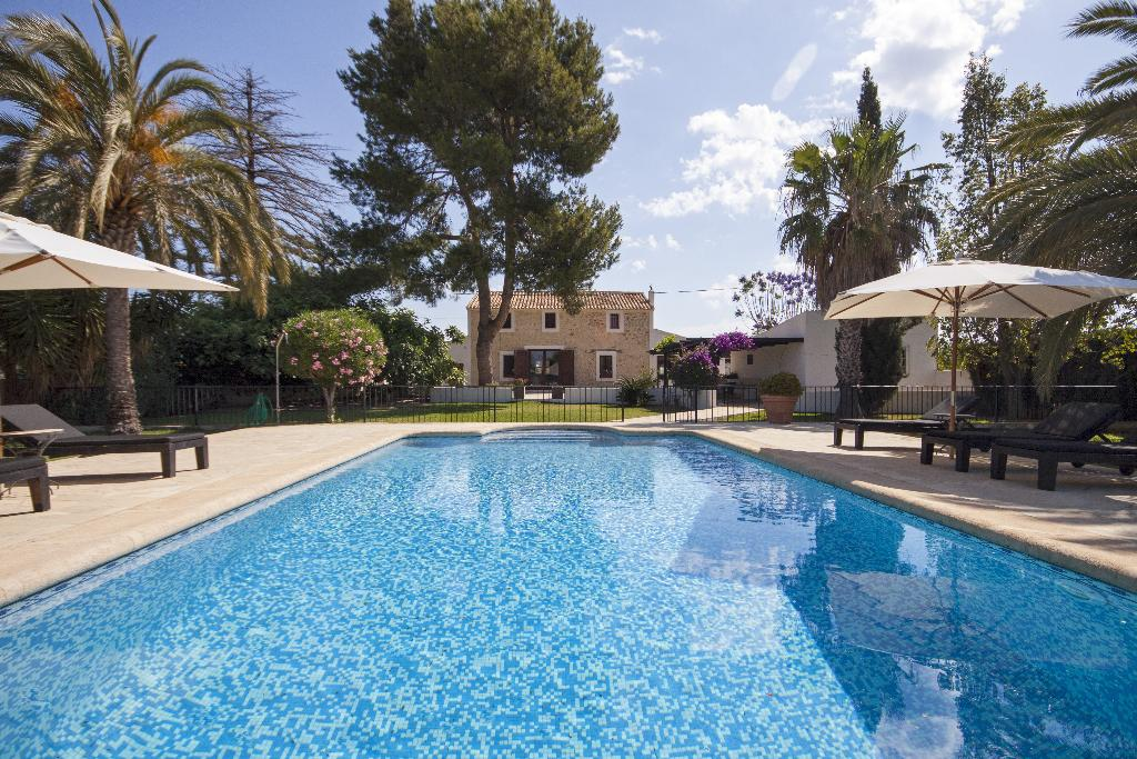Alfatares, Rustic and comfortable villa  with private pool in Denia, on the Costa Blanca, Spain for 8 persons.....