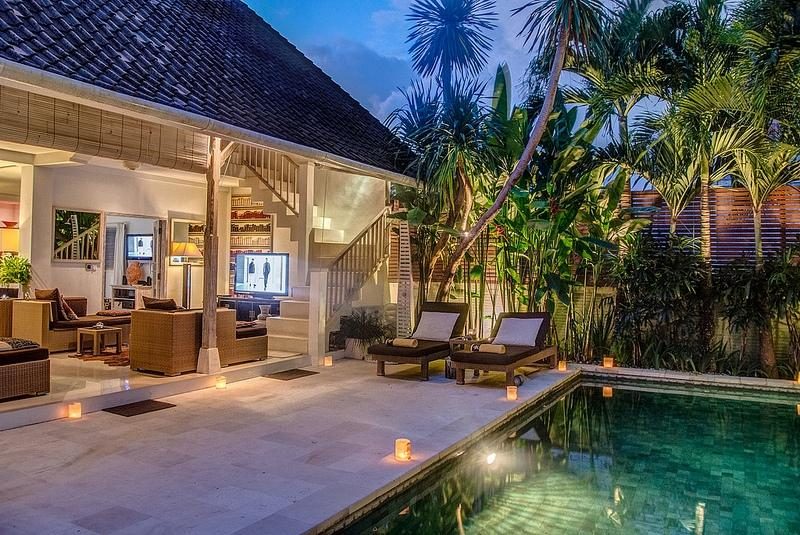 Rama Sita 2BR, Beautiful and nice villa  with private pool in Seminyak, Bali, Indonesia for 4 persons...