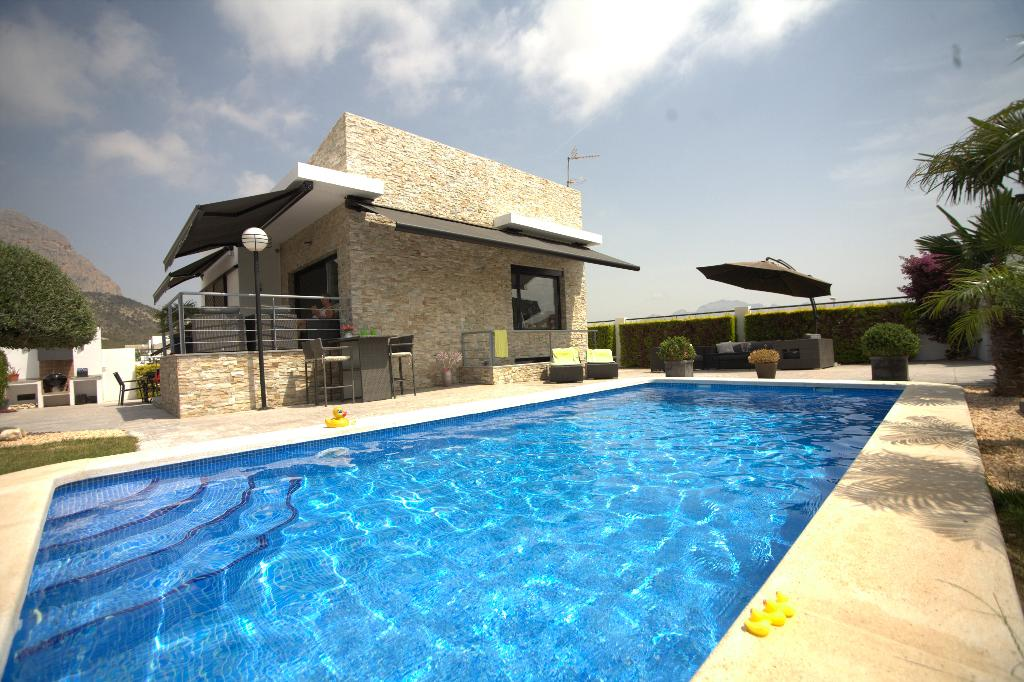 Casa Pimienta 4, Villa  with private pool in Altea, on the Costa Blanca, Spain for 4 persons.....
