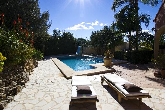 Villa Castellans, Wonderful and comfortable villa  with private pool in Javea, on the Costa Blanca, Spain for 6 persons.....