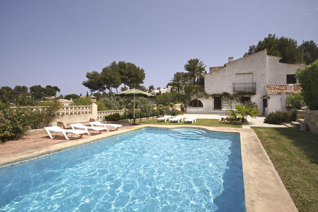 El Batan, Rustic and romantic villa  with private pool in Javea, on the Costa Blanca, Spain for 8 persons.....