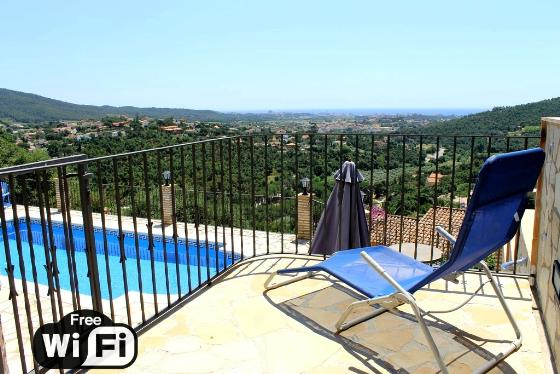 Villa la vista, Wonderful and romantic villa in Calonge, Catalonia, Spain  with private pool for 6 persons...