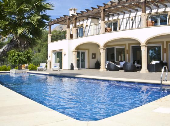 Magic, Grosse und Luxus Villa in Javea, an der Costa Blanca, Spanien  mit privatem Pool für 12 Personen...