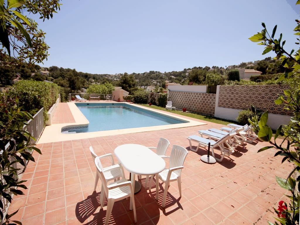 Golden,Lovely and romantic villa with private pool in Javea, on the Costa Blanca, Spain for 6 persons. The villa is situated in.....