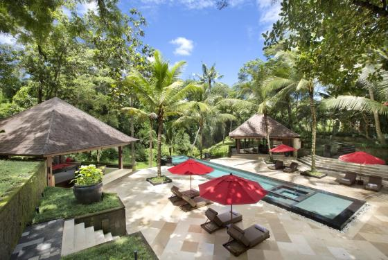 The Sanctuary, Grosse und Luxus Villa  mit privatem Pool in Canggu, auf Bali, Indonesien für 36 Personen...