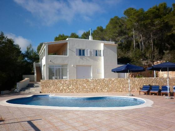316, Villa  with private pool in San Miguel, Ibiza, Spain for 4 persons...