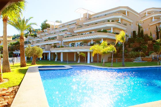 MIMOSAS GOLF 2 BED, Modern and luxury apartment  with communal pool in Denia, on the Costa Blanca, Spain for 4 persons...