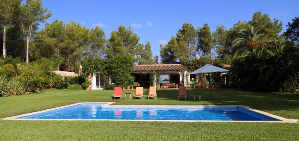 925,Villa à San Jose, Ibiza, Espagne  avec piscine privée pour 8 personnes...