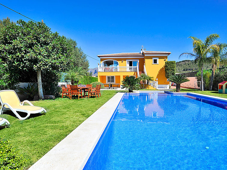 Casa Verano, Large and comfortable villa in Javea, on the Costa Blanca, Spain  with private pool for 6 persons.....