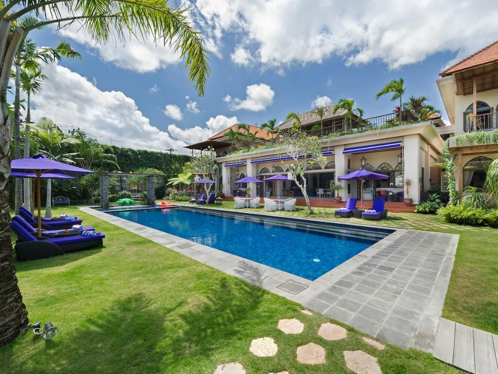 Sayang Damour, Large and luxury villa  with private pool in Seminyak, Bali, Indonesia for 12 persons...