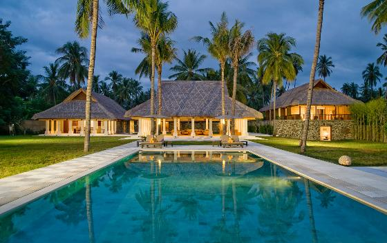 Sepoi Sepoi, Wonderful and luxury villa  with private pool in North Lombok, Lombok, Indonesia for 12 persons...