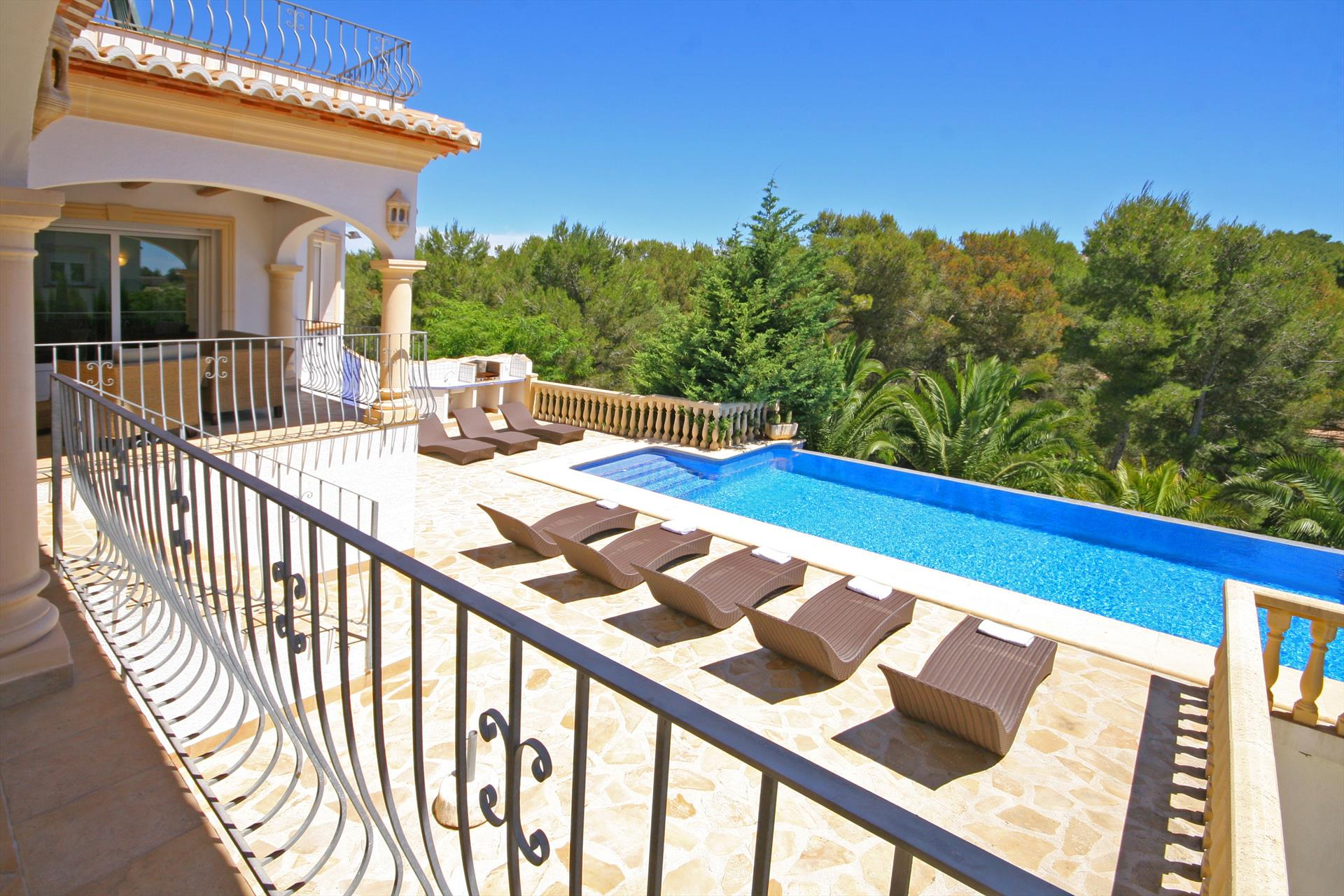 Anngo 4 pax, Beautiful and comfortable villa  with private pool in Javea, on the Costa Blanca, Spain for 4 persons.....
