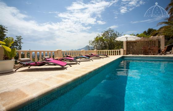 Splendid 6, Villa  mit privatem Pool in Altea, an der Costa Blanca, Spanien für 6 Personen.....