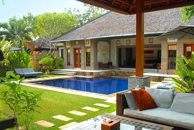 Dewata 1, Beautiful and luxury villa  with private pool in Seminyak, Bali, Indonesia for 8 persons...