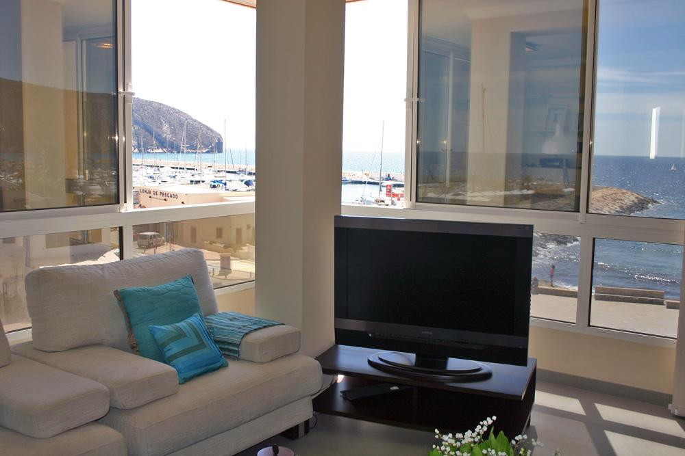 Apartamento Moraira Playa, Apartment in Moraira, on the Costa Blanca, Spain for 6 persons.....