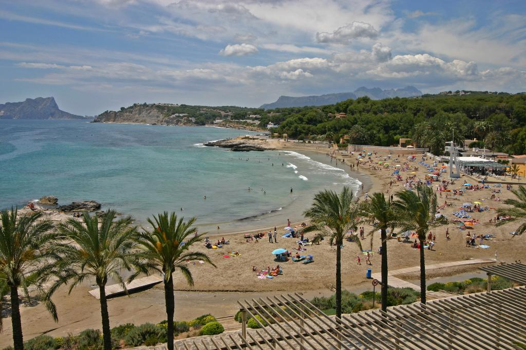 Apartamento moraira al mar 4, Apartment in Moraira, on the Costa Blanca, Spain for 4 persons...