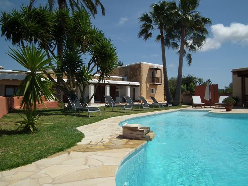 321,Villa rustica e confortevole  con piscina privata a San Jose, Ibiza, in Spagna per 7 persone...