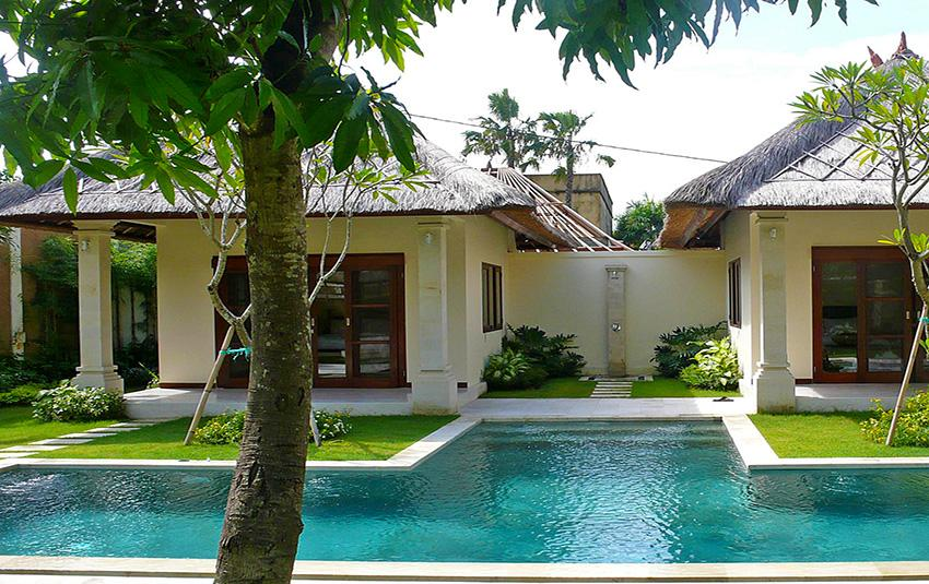 Cemara, Beautiful and cheerful villa in Seminyak, Bali, Indonesia  with private pool for 4 persons...