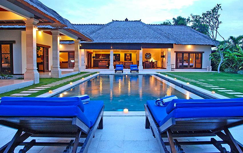 Santai, Wonderful and luxury villa  with private pool in Seminyak, Bali, Indonesia for 8 persons...