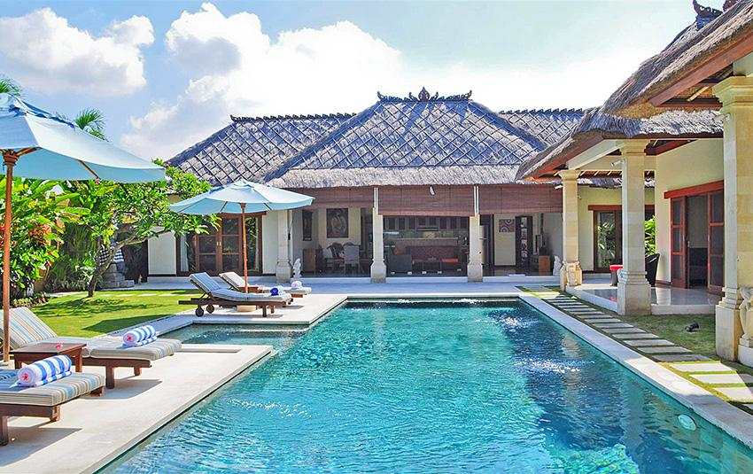 Vara, Large and luxury villa  with private pool in Seminyak, Bali, Indonesia for 8 persons...