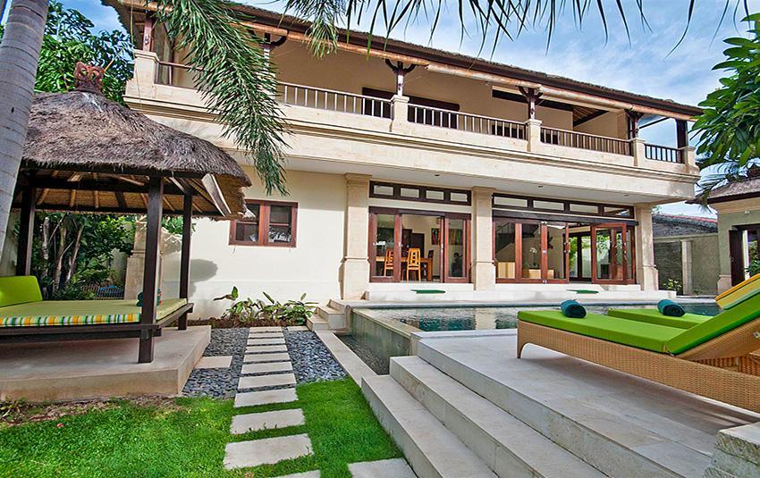 Gading,Mooie en luxe villa  met privé zwembad in Seminyak, op Bali, Indonesië voor 6 personen...