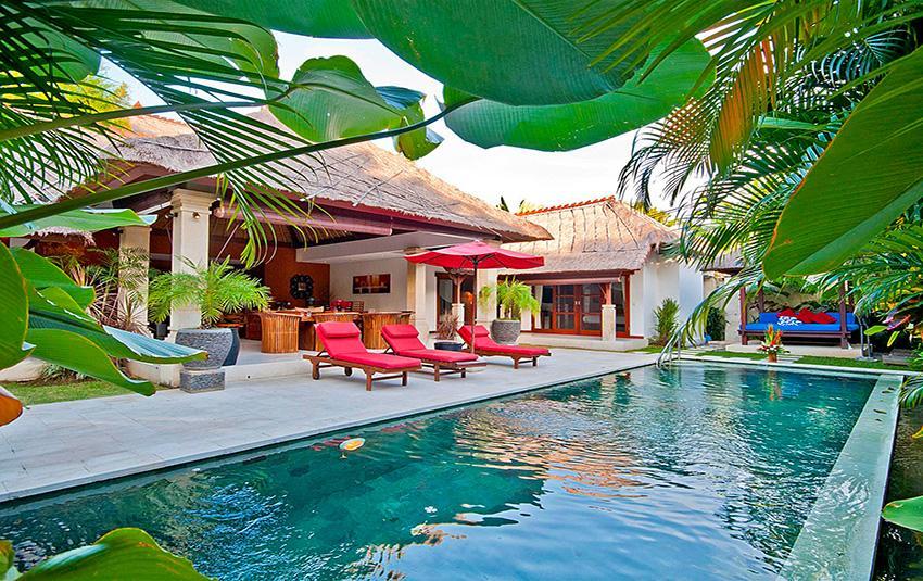 Olive,Villa bonita y de lujo  con piscina privada en Seminyak, Bali, Indonesia para 6 personas...