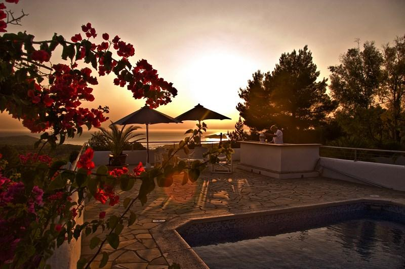 929, Villa  with private pool in Cala Tarida, Ibiza, Spain for 10 persons...