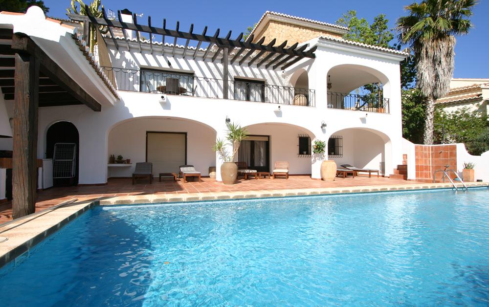 Villa Bambu, Villa  with private pool in Moraira, on the Costa Blanca, Spain for 6 persons.....