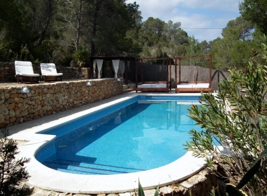 322, Beautiful and nice villa in Cala Conta, Ibiza, Spain  with private pool for 10 persons...