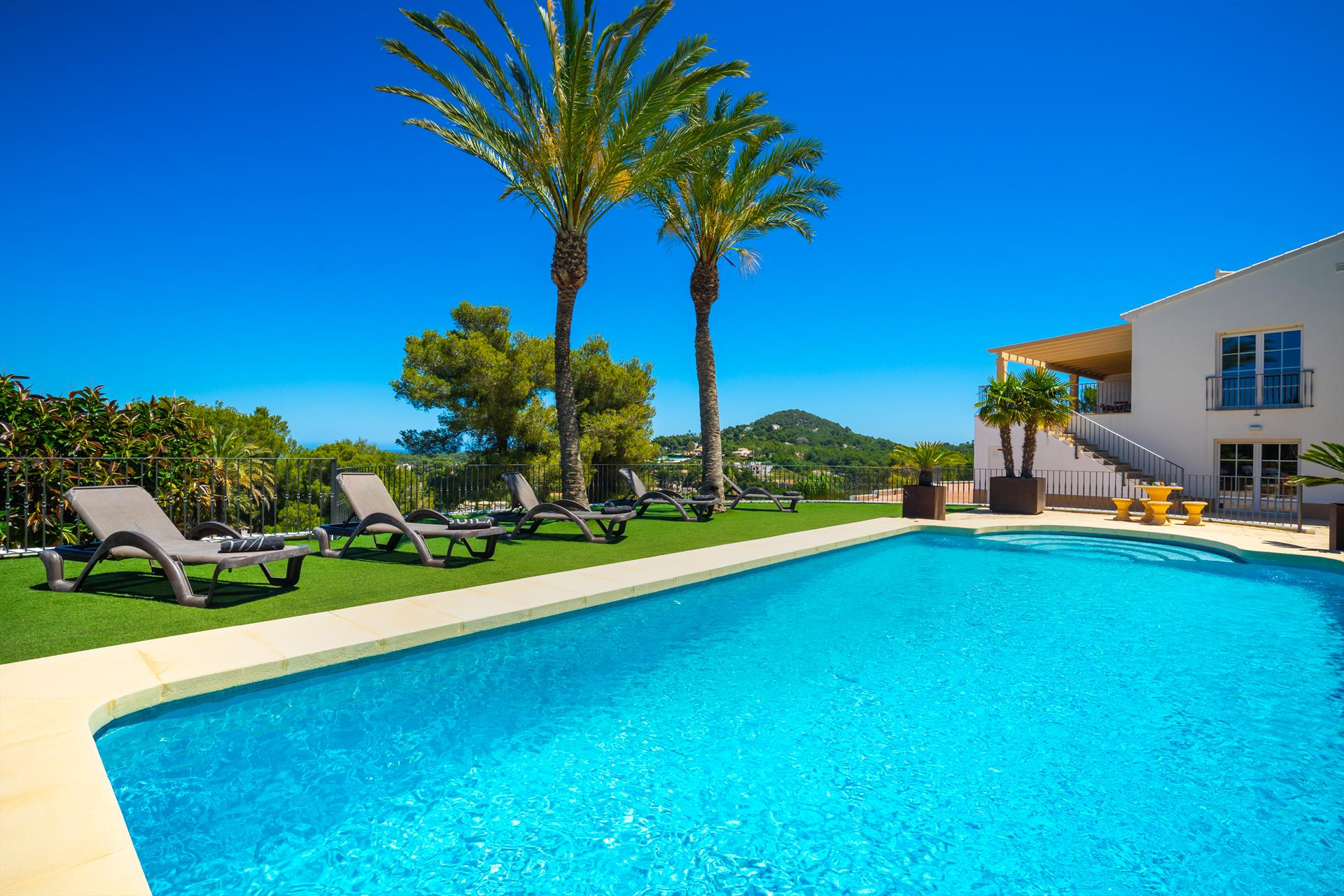Vista al Mar 8pax, Large and luxury villa in Javea, on the Costa Blanca, Spain  with private pool for 8 persons.....