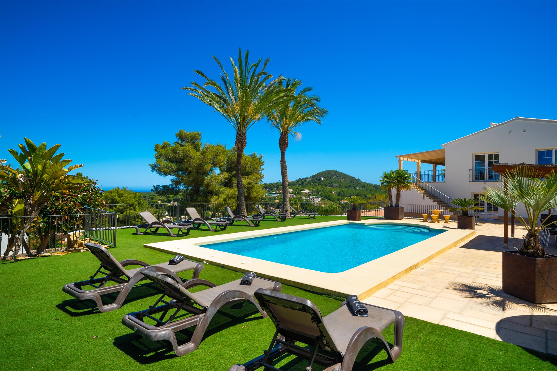 Vista al Mar 6pax, Large and luxury villa in Javea, on the Costa Blanca, Spain  with private pool for 6 persons...