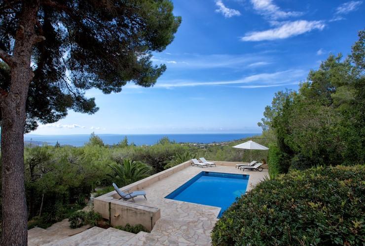 323,Villa in Es Cubells, auf Ibiza, Spanien  mit privatem Pool für 8 Personen...