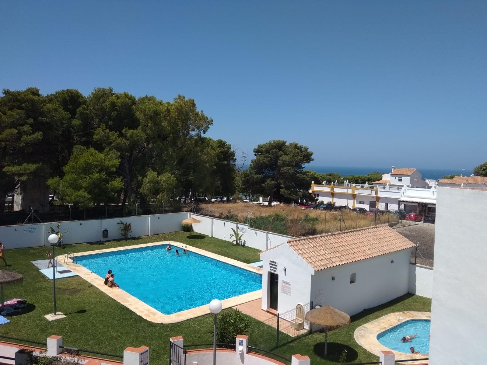 Conil 116 p5,Apartment in Conil de la Frontera, Costa de la Luz, Spain  with communal pool for 5 persons.....