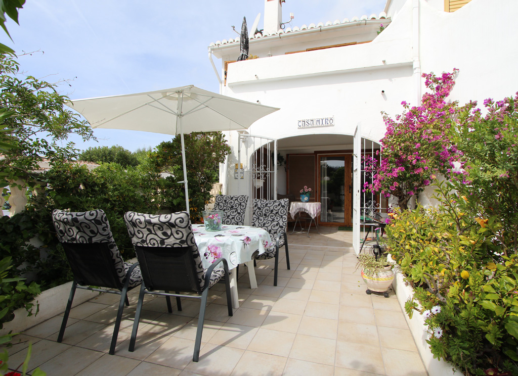 Bungalow Camarrocha 1  4 pax, Holiday home  with communal pool in Moraira, on the Costa Blanca, Spain for 4 persons.....
