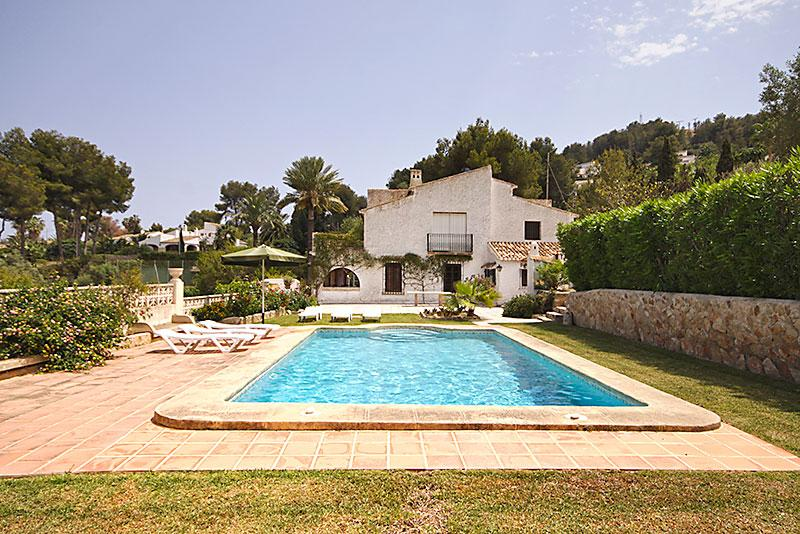 El Batan 6pax, Rustic and romantic villa in Javea, on the Costa Blanca, Spain  with private pool for 6 persons...
