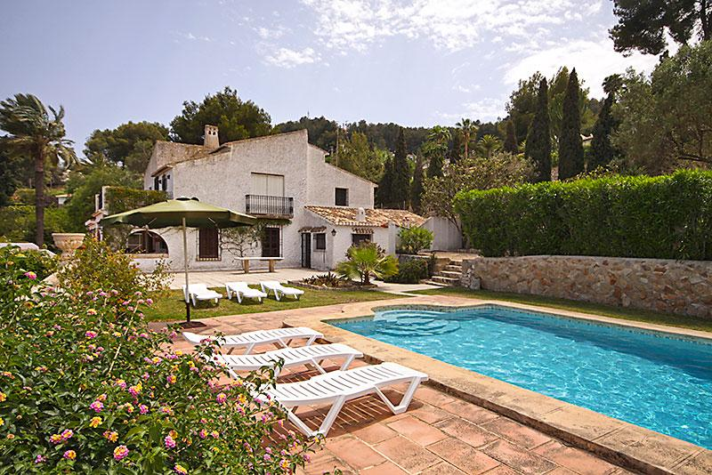 El Batan 4pax, Rustic and romantic villa in Javea, on the Costa Blanca, Spain  with private pool for 4 persons...