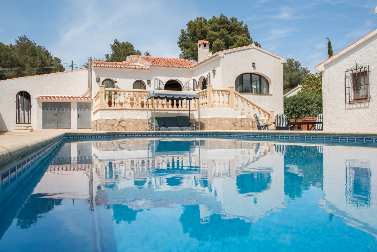Casa Virginia 8 pax, Wonderful and comfortable villa  with private pool in Javea, on the Costa Blanca, Spain for 8 persons...