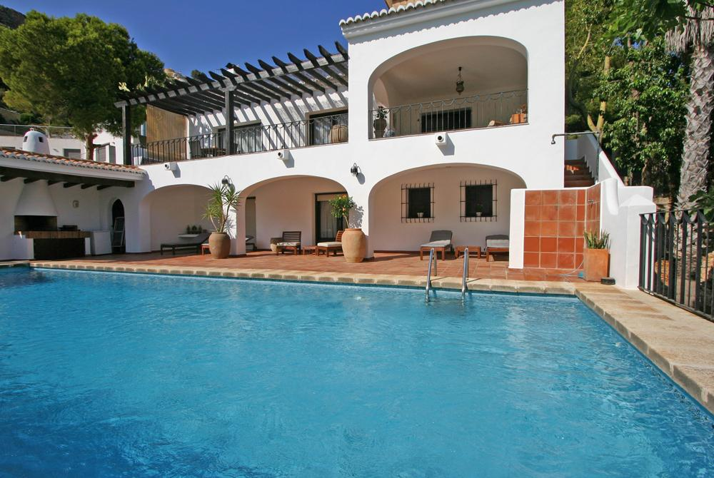 Villa Bambu LT, Villa in Moraira, on the Costa Blanca, Spain  with private pool for 6 persons.....