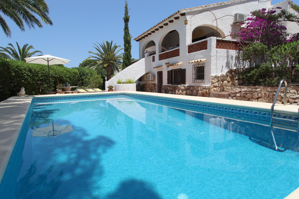 Casa Encantadora 4, Villa  with private pool in Moraira, on the Costa Blanca, Spain for 4 persons...